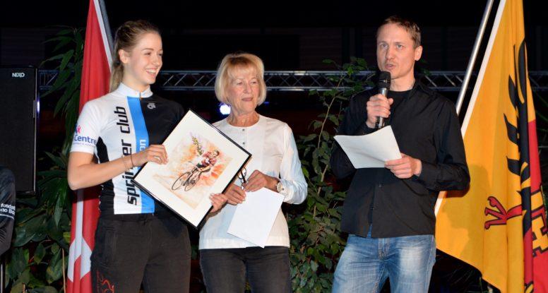 Eléa Schneeberger récompensée par le Prix Bernard Vifian 2015