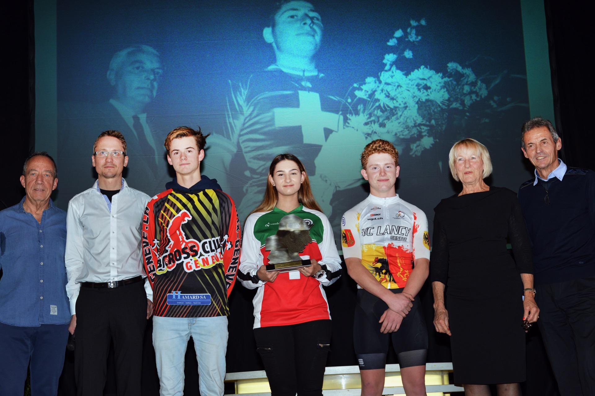 Le Prix Bernard Vifian 2017 attribué à Leila Henry, une jeune pilote de BMX.